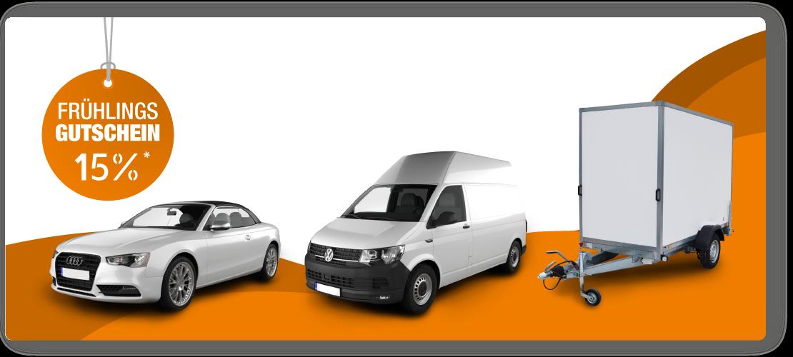 Handwerkerpaket Fahrzeugbeschriftung Collage