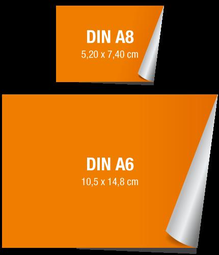 Handwerkerpaket Werbeaufkleber A8 A6